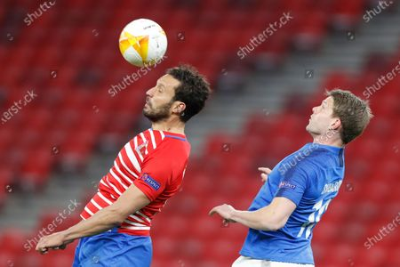 Editorial image of Soccer Europa League, Budapest, Hungary - 18 Mar 2021