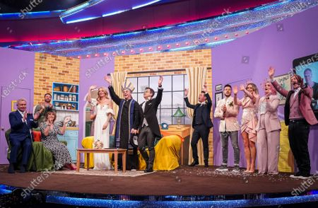 'End of Show, Show' featuring Cat Deeley, Stephen Mulhern, Emily Atack, Steps, Brian McFadden, Joe Lycett, Eamonn & Ruth, Fleur East, Sting and Simon Pegg.
