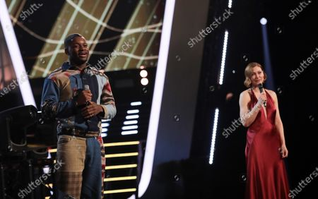 Stock Picture of Team will - Okulaja and Emma Willis