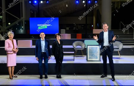 Editorial picture of Axel Springer Award for Biontech founders, Berlin, Germany - 18 Mar 2021