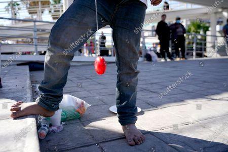 Editorial photo of Migrant Children, Reynosa, Mexico - 18 Mar 2021