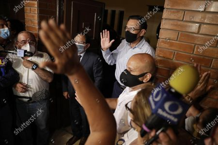 Editorial photo of Former Peruvian President Martin Vizcarra is freed from going to preventive prison, Lima, Peru - 18 Mar 2021