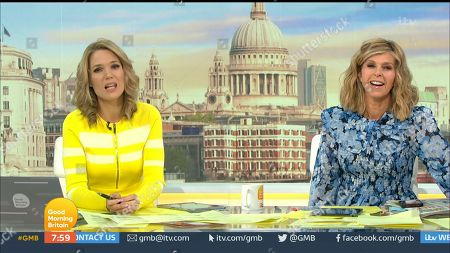 Charlotte Hawkins and Kate Garraway