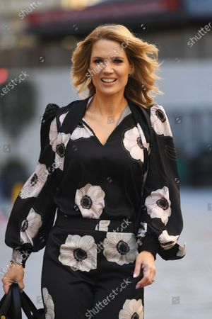 Charlotte Hawkins at Global Radio