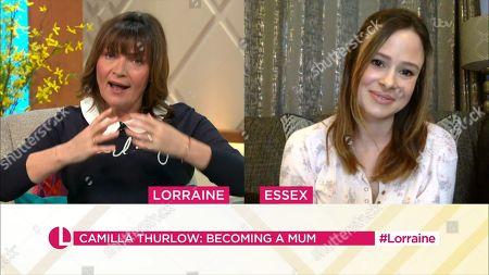 Editorial photo of 'Lorraine' TV Show, London, UK - 19 Mar 2021