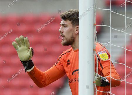 Alex Palmer goalkeeper for Lincoln City