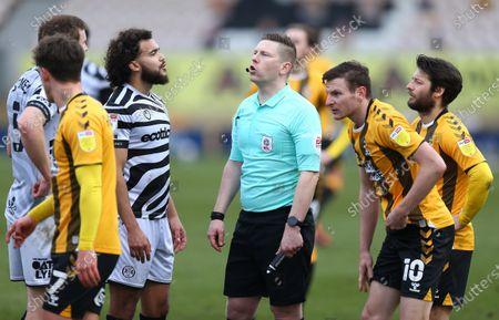 Referee Marc Edwards