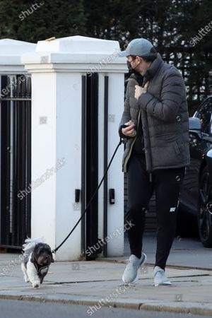 Editorial picture of Exclusive - Frank and Christine Lampard out and about, Chelsea, London UK - 19 Mar 2021