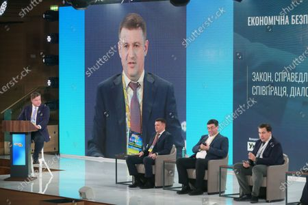 Editorial picture of Day 3 at Ukraine 30. Small and Medium Business and State Forum, Kyiv, Ukaine - 19 Mar 2021