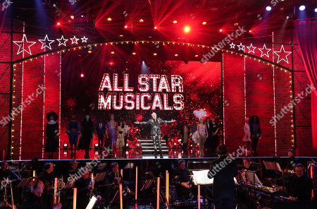 Editorial picture of 'All Star Musicals' TV Show, UK - 21 Mar 2021