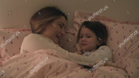 Sam Faiers with Rosie.