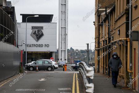 Editorial image of Watford v Birmingham City, EFL Sky Bet Championship, Football, Vicarage Road, Watford, UK - 20 Mar 2021