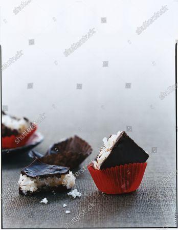 Coconut Chocolate Bites.