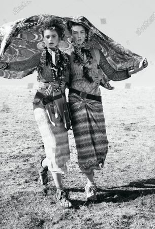 Editorial photo of Vogue March 2010 Fashion