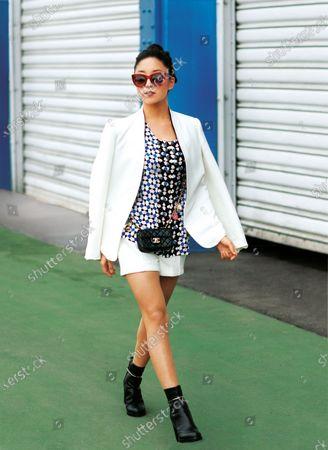 Editorial photo of Allure March 2013 Fashion