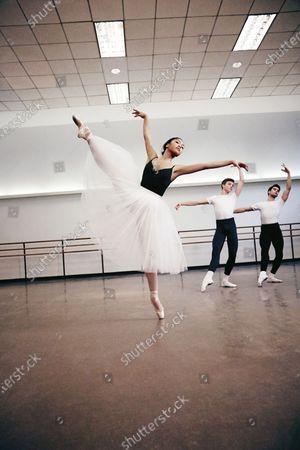 School of American Ballet dancer Jasmine wearing Chacott tutu. Jasmine