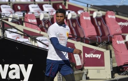 Ben Johnson of West Ham United during Training