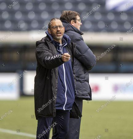 Kilmarnock v MotherwellKilmarnock manager Tommy Wright with coach Paul Stephenson
