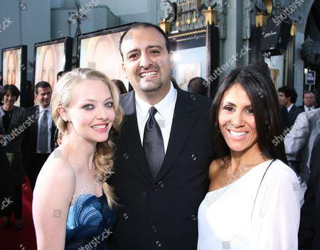 Stock Image of Amanda Seyfried, Lorena Rincon and James Ordonez