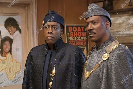 Editorial picture of 'Coming 2 America' film - 2021