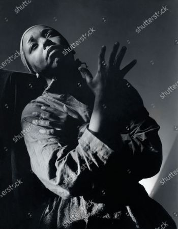 Actress and singer Ethel Waters in costume as Hagar for Dubose and Dorothy Heyward's play Mamba's Daughters. Ethel Waters