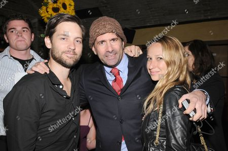 Tobey Maguire, Gary Winick and Jennifer Meyer