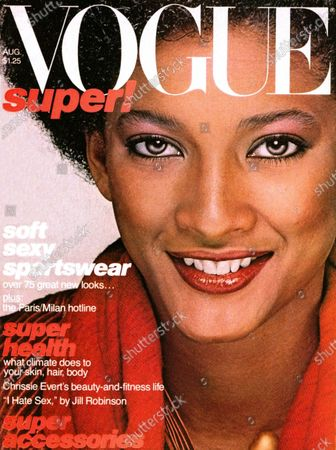 Editorial image of Vogue August 01, 1977 Cover