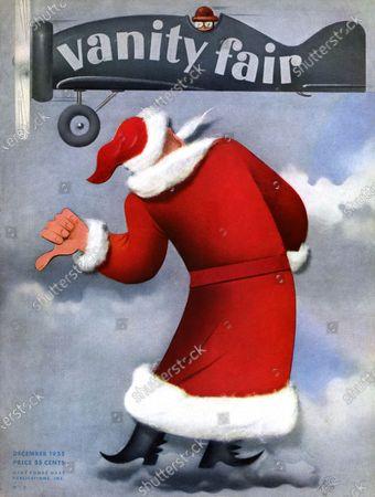 Editorial image of Vanity Fair December 01, 1935 Cover
