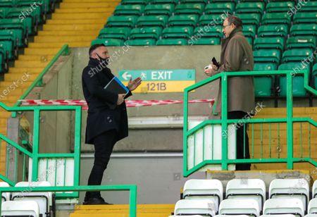Editorial photo of Celtic v Rangers, Scottish Premiership, Football, Celtic Park, Glasgow, Scotland, UK - 21 Mar 2021