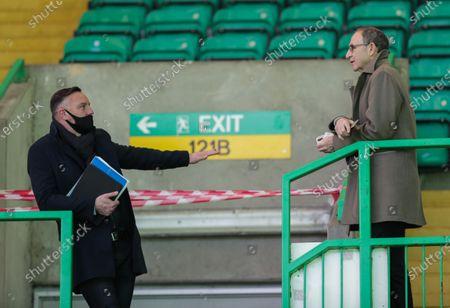 Editorial image of Celtic v Rangers, Scottish Premiership, Football, Celtic Park, Glasgow, Scotland, UK - 21 Mar 2021