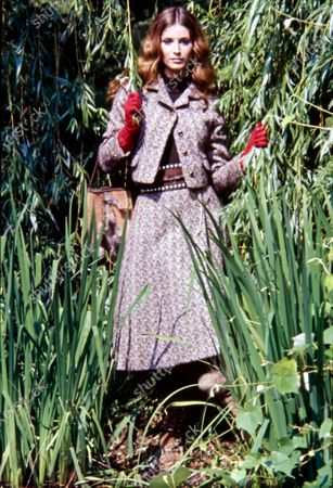 Editorial picture of Vogue September 01, 1970 Fashion, Old Westbury, New York, USA
