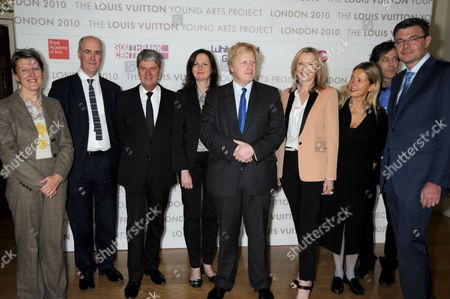 Penelope Curtis, Charles Saumarez Smith, Yves Carcelle, Boris Johnson, Susan Whiteley, Iwona Blazwick CBE