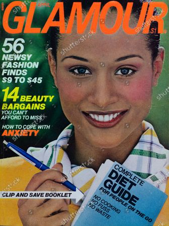 Editorial photo of Glamour April 01, 1976 Cover