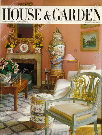 Editorial picture of House & Garden January 01, 1985 Cover