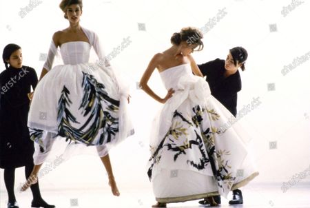 Editorial picture of Vogue July 01, 1991 Fashion Feature, USA