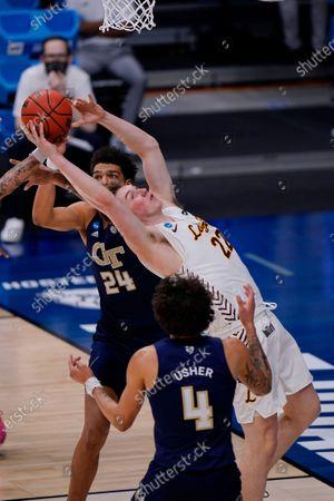 Editorial photo of NCAA Georgia Tech Loyola Chicago Basketball, Indianapolis, United States - 19 Mar 2021