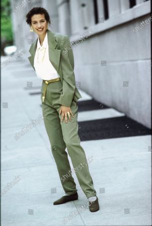 Editorial photo of Vogue August 01, 1989 Fashion Feature, New York, USA
