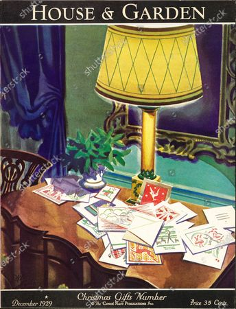 Editorial image of House & Garden December 01, 1929 Cover