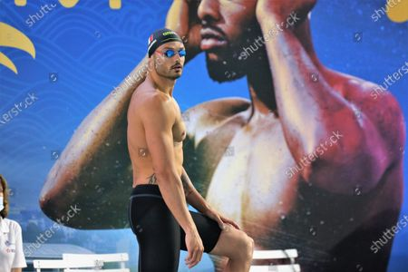 Florent Manaudou of CN Marseille Final A 50 m freestyle Men