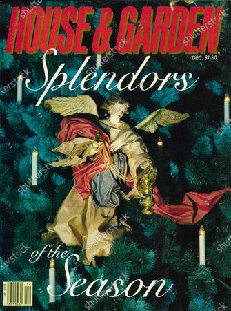 Editorial image of House & Garden December 01, 1981 Cover