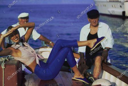 Editorial image of Vogue December 01, 1992 Fashion Feature, Portofino, Italy