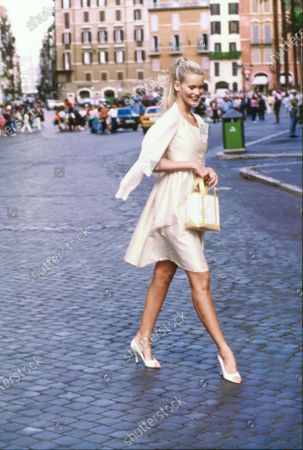 Editorial picture of Vogue December 01, 1994 Fashion Feature, Rome, Italy