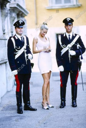 Editorial image of Vogue December 01, 1994 Fashion Feature, Rome, Italy