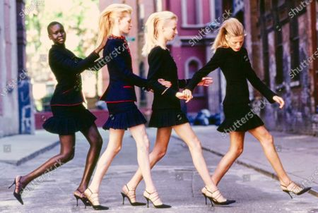 Editorial photo of Vogue August 01, 1997 Fashion Feature, New York, USA