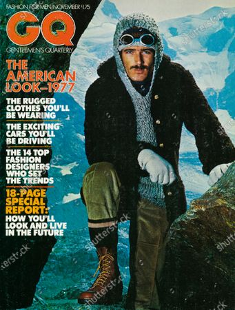 Editorial image of GQ November 01, 1976 Cover