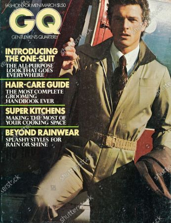 Editorial picture of GQ March 01, 1976 Cover
