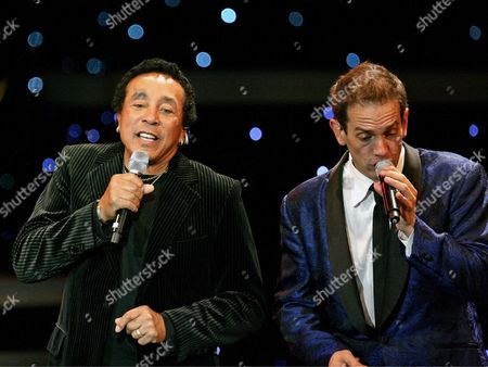 Smokey Robinson and Toby Allen