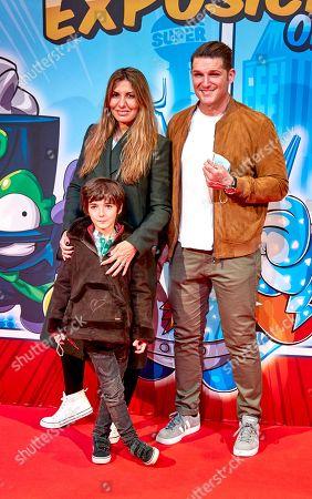Manu Tenorio and Silvia Casas
