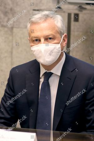 Minister of the Economy of Finance and French Relaunch Bruno Le Maire