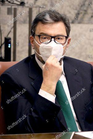Minister of Economic Development Giangarlo Giorgetti